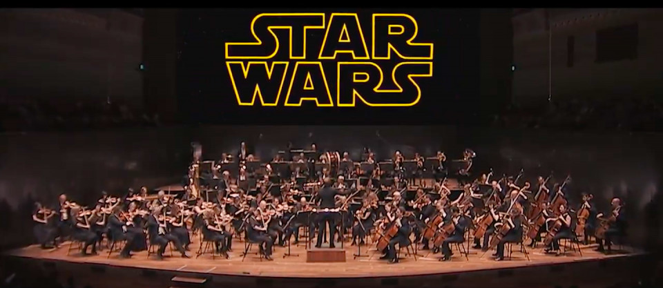 2019 Concerts Star Wars Video Overlay