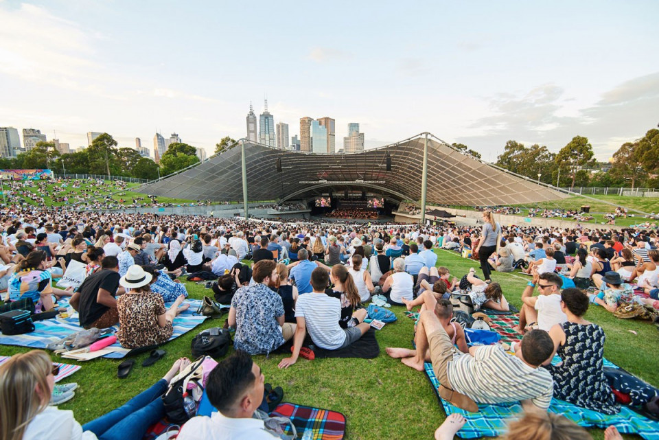 Sidney Myer Music Bowl Mso Free Concerts