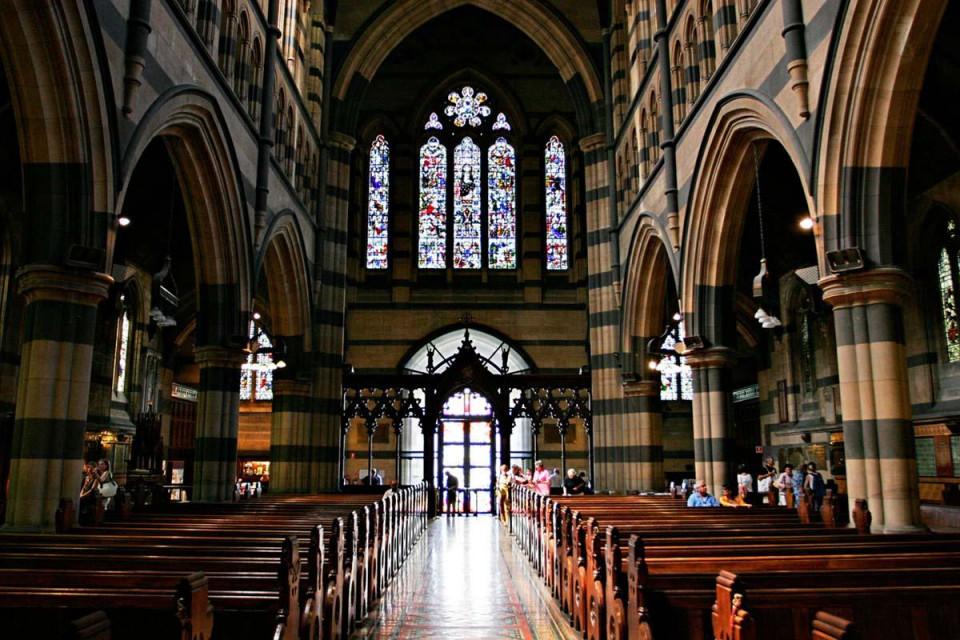 Venue St Pauls Cathedral Melbourne
